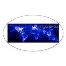 HighIQWorld Possibilities Decal