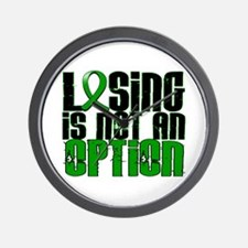 Losing Is Not an Option Adrenal Cancer Wall Clock