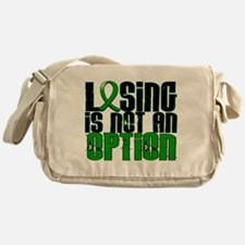 Losing Is Not an Option Adrenal Canc Messenger Bag