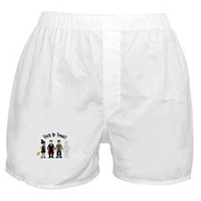 Trick Or Treat! Boxer Shorts