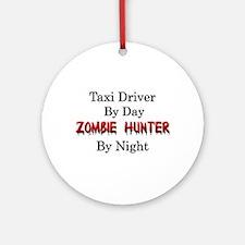Tax Preparer/Zombie Hunter Ornament (Round)