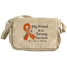 Friend Strong Survivor Messenger Bag