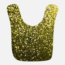 Gold Mosaic Sparkley 1 Bib