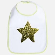 Bib Gold Mosaic Sparkley Star1