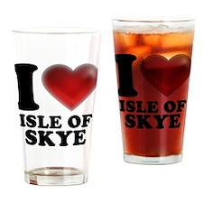 I Heart Isle of Skye Drinking Glass