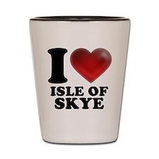 I Heart Isle of Skye Shot Glass