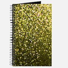 Gold Mosaic Sparkley 1 Journal