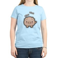 Cute Pink Pig Oink T-Shirt