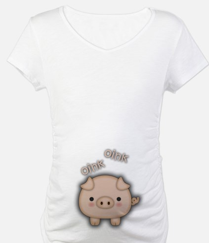 Cute Pink Pig Oink Shirt