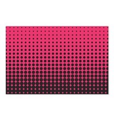Halftone Dots Postcards (Package of 8)