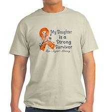 Daughter Strong Survivor T-Shirt