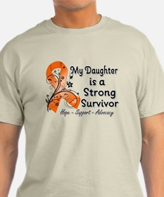 Daughter Strong Survivor T-Shirt
