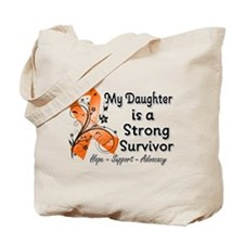 Daughter Strong Survivor Tote Bag