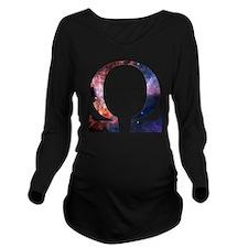 Omega Nebula Long Sleeve Maternity T-Shirt