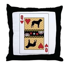 Queen Fila Throw Pillow