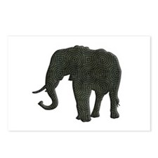 Elephant Postcards (Package of 8)