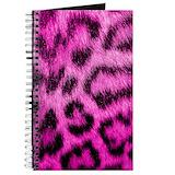 Pink leopard print Journals & Spiral Notebooks