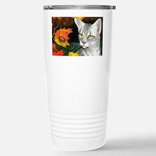 Cat 446 Stainless Steel Travel Mug