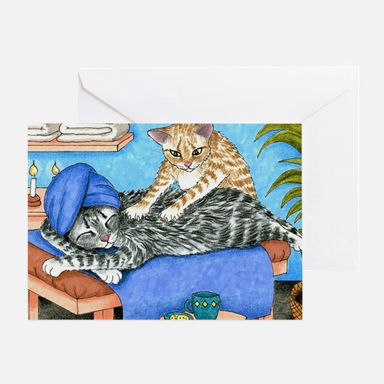 Cat 456 Greeting Card