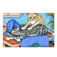 Cat 456 Postcards (Package of 8)