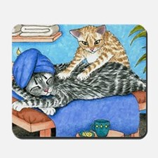 Cat 456 Mousepad