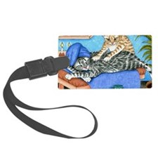 Cat 456 Luggage Tag