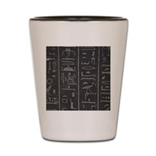 Rosetta Stone Shot Glass