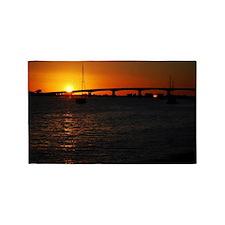 Beautiful Sunset 3'x5' Area Rug