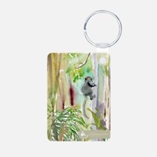 Mongoose Lemur In The Forest Keychain Keychains