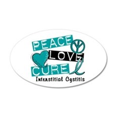 Peace Love Cure 1 Interstiti Wall Decal