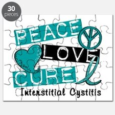 Peace Love Cure 1 Interstitial Cystitis Puzzle
