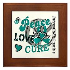 Peace Love Cure 2 IC Framed Tile