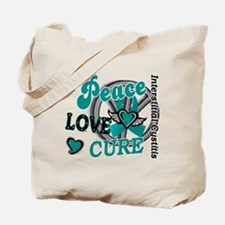 Peace Love Cure 2 IC Tote Bag