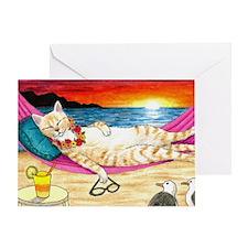 cat 472 Greeting Card