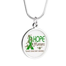Hope Matters 3 IC Silver Round Necklace