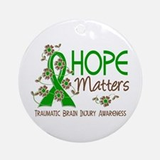 Hope Matters 3 IC Ornament (Round)