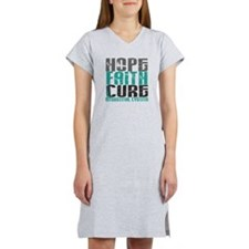 Hope Faith Cure IC Women's Nightshirt