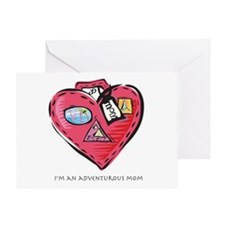 Cool Valentine sons Greeting Card