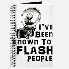 I've Been Known to Flash People Journal