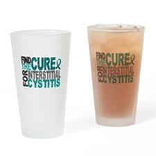 Find the Cure IC Drinking Glass