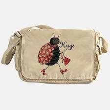 Ladybug Hugs Messenger Bag