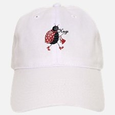 Ladybug Hugs Baseball Baseball Baseball Cap