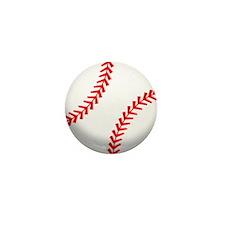 2-baseball.png Mini Button (10 pack)