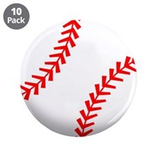 """2-baseball.png 3.5"""" Button (10 pack)"""