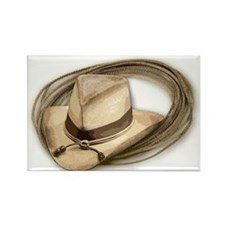 cowboy hat horses Magnets