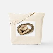 cowboy hat horses Tote Bag
