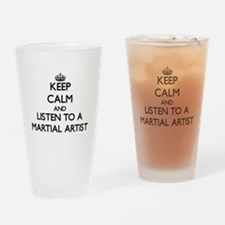 Keep Calm and Listen to a Martial Artist Drinking