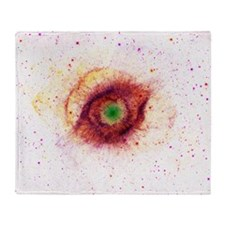 Helix Nebula: Gods Eye [Cake Version] Throw Blanke