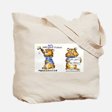 Abrahamster in Alaska Tote Bag