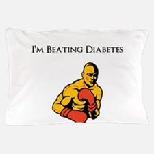 I'm Beating Diabetes Pillow Case